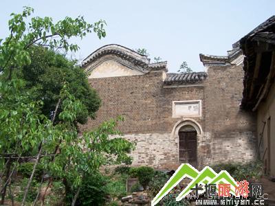 十堰郧西上津古城风景区