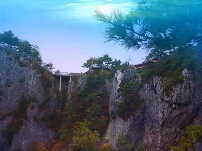 陕西天竺山国家森林公园